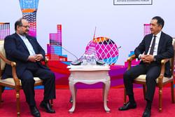 تیمور سلیماناف وزیر اقتصاد قزاقستان و محمد شریعتمداری