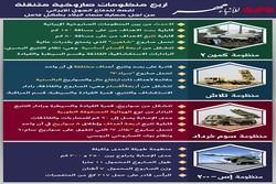 المنظومات الصاوخية الايرانية