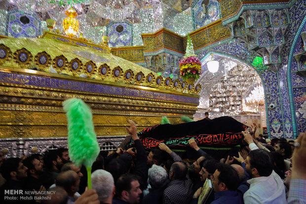 تشییع پیکر حجتالاسلام سیدمهدی طباطبایی در قم