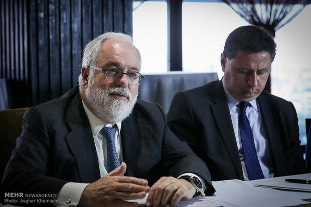 Energy min., EU's top energy commissioner meet in Tehran