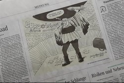Almanya'da Netanyahu'yu çizen karikatürist işten atıldı