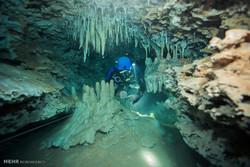 سفر به غارهای آبی مکزیک