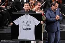 مراسم توديع المنتخب الإيراني كرة القدم / صور