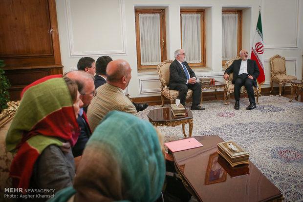 FM Zarif receives EU energy commissioner