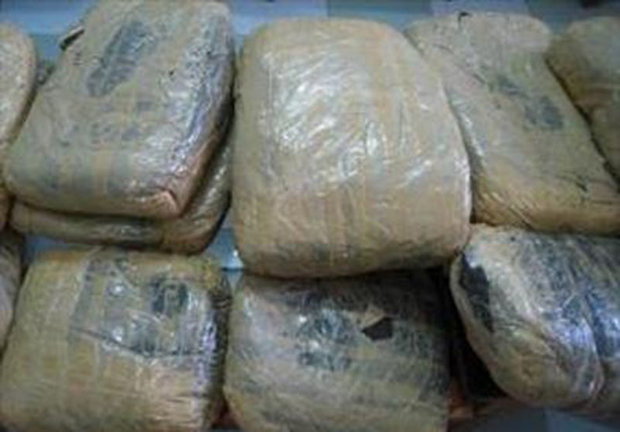 102 kg of drugs seized in Malard