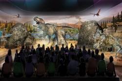 پارک سه بعدی دایناسورها در امریکا افتتاح می شود
