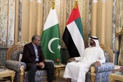 ولیعهد امارات و فرمانده ارتش پاکستان