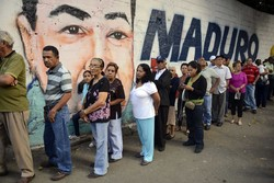 the Venezuelan people's votes in the presidential elections