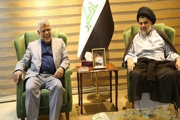 مقتدی صدر سے ہادی عامری کی ملاقات