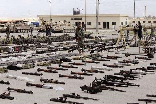 العثور على مستودعات أسلحة غربية في حمص السورية