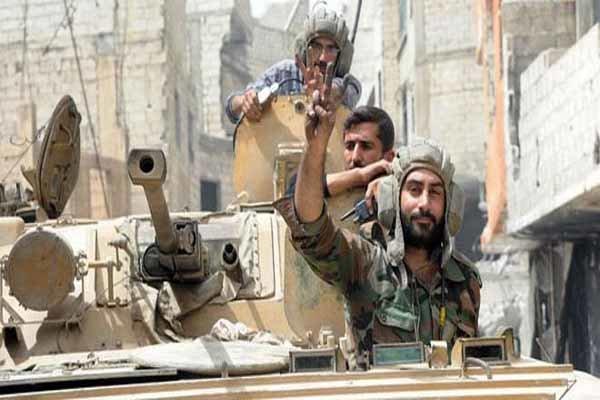 """Suriye ordusundan """"Dera""""da stratejik başarılar"""