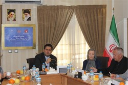 From right to left, AIT scientists Josef Fröhlich, Marianne Hörlesberger and Iran's ESFRD Director Ali Vahdat held a meeting in Tehran on Monday.