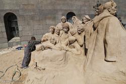 جشنواره مجسمه های شنی در روسیه