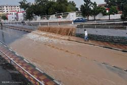 بارش اخیر باران در کرج ۲۵ میلیمتر گزارششده است