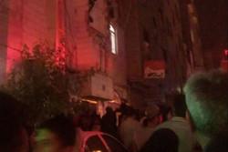 انفجار گاز در شهر قدس