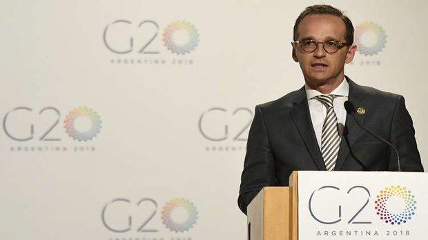 وزير الخارجية الألماني يعتزم لقاء بومبيو لبحث قضية إيران