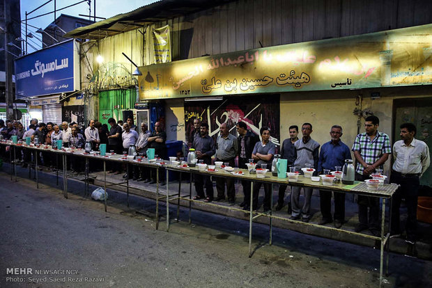 Public Iftar ceremonies in Ramadan