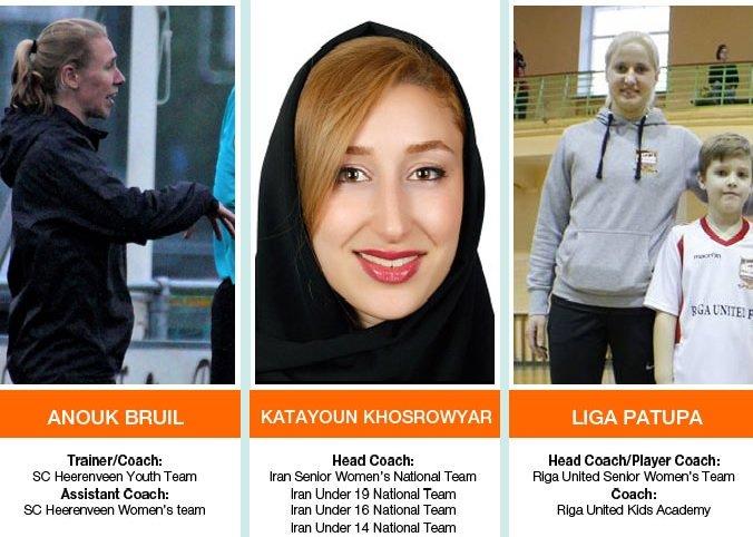 Katayoun Khosrowyar shortlisted for WSU Coach Award