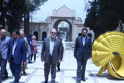 بازدید از موزه هنرهای معاصر صنعتی کرمان