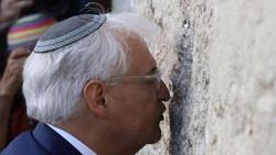 """مسؤول فلسطيني يصف تصرفات السفير الأمريكي في تل أبيب بـ""""المنحطة والحقيرة"""""""