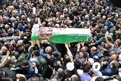 وداع باشکوه مردم ارومیه با مجاهد نستوه / تشییع حجت الاسلام غلامرضا حسنی