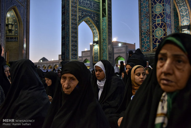 Iftar banquet at Holy Shrine of Imam Reza