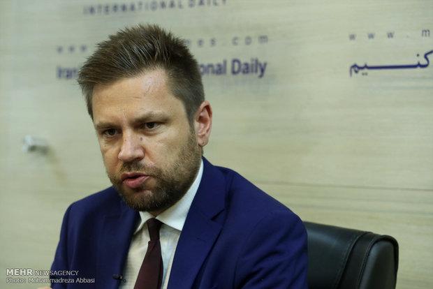 Polish amb. visits Mehr News HQ