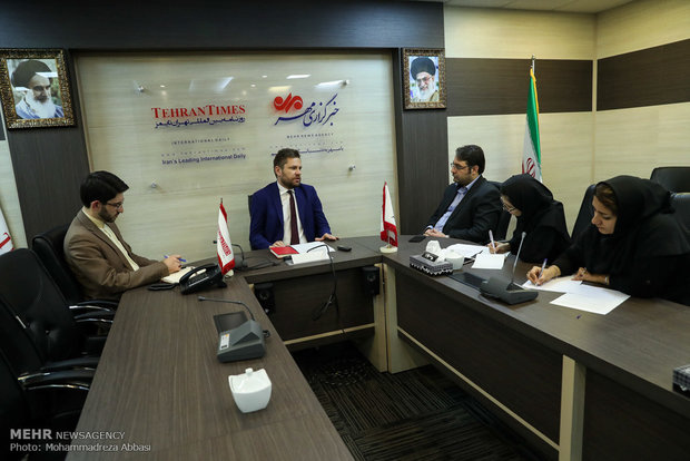 Polish amb. visits Mehr News HQ