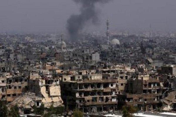 جنایت جدید ائتلاف آمریکا در حمله به غیرنظامیان در حومه دیرالزور