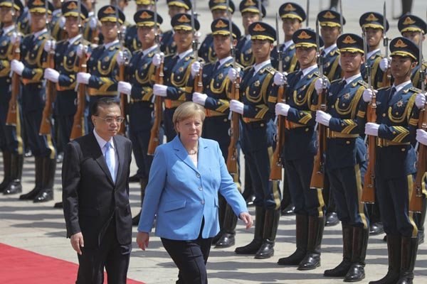 Germany, China to remain committed to JCPOA: Merkel