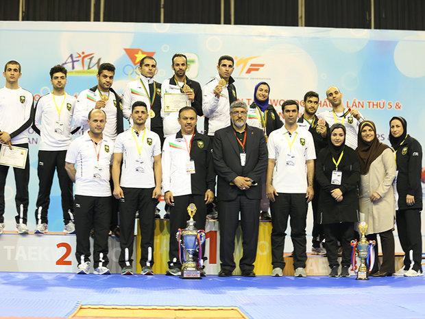 ايران تتربع على عرش بطولة آسيا بالباراتكواندو
