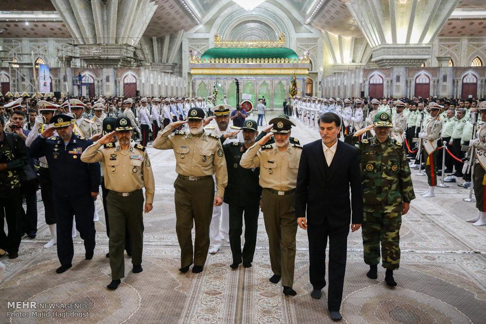 مراسم شکرگزاری به مناسبت سالروز آزادسازی خرمشهر