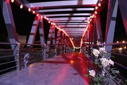 پل پارک شهید بهشتی به حرم شهدای گمنام در نکا افتتاح شد