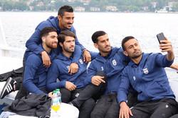 تیم ملی در استانبول