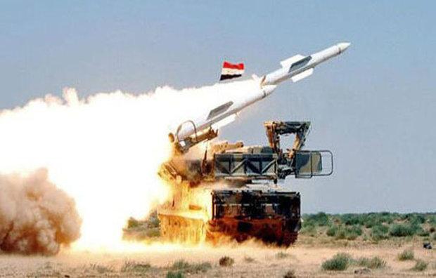 پدافند موشکی سوریه