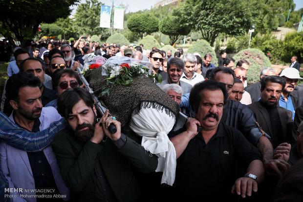 مراسم تشییع پیکر مرحوم سید مصطفی موسوی
