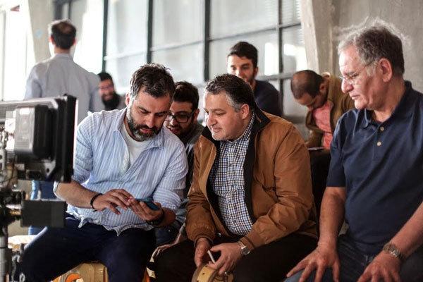 بازدید مدیرعامل بنیاد سینمایی فارابی از پشت صحنه «سونامی»
