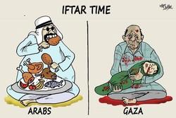 Karikatür: Gazze'deki olaylara sessiz kalan Arap liderler