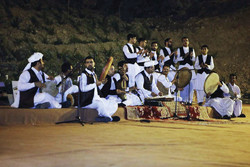 A music group from the northeastern Iranian region of Khorasan
