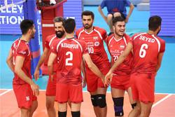 تیم ملی والیبال ایران و استرالیا
