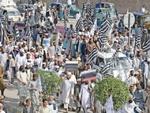 فاٹا کے خیبرپختونخواہ میں انضمام کے خلاف احتجاج