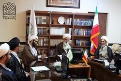 دیدار رییس کمیته کرسیهای آزاد اندیشی حوزه با آیت الله  رشاد