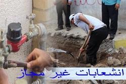 ۷۳ انشعاب آب غیرمجاز در خراسان شمالی شناسایی شد