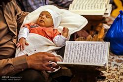 ترتيل القرآن الكريم في مرقد السيدة معصومة (س) / صور
