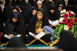 برگزاری مراسم جمع خوانی قرآن در مسجد سید شرف شادگان