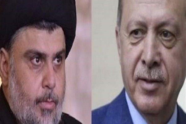 مقتدی صدر اور اردوغان کی ٹیلیفون پر گفتگو