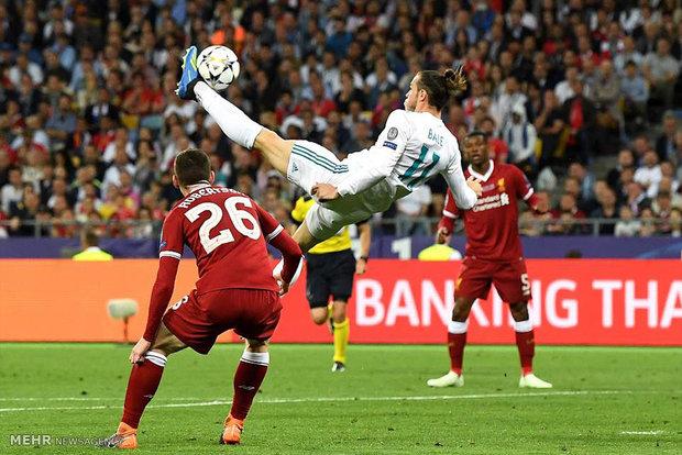 دیدار تیم های فوتبال رئال مادرید و لیورپول