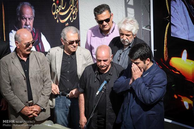 İranlı sinema oyuncusu son yolculuğuna uğurlandı