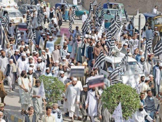 احتجاج پاکستان