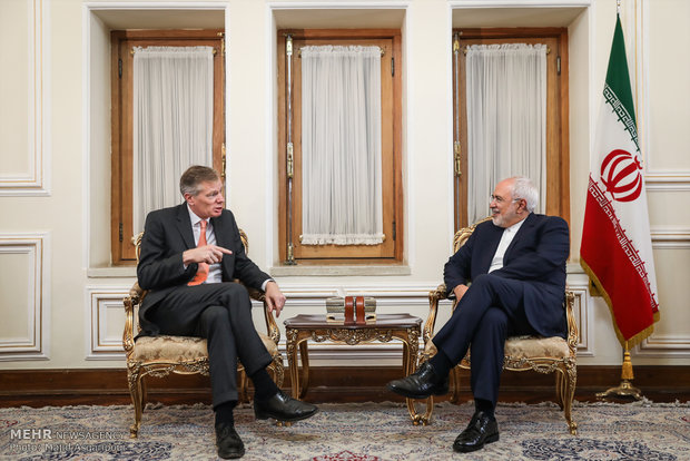 Iranian FM receives envoys from UK, UN, S Korea in Tehran